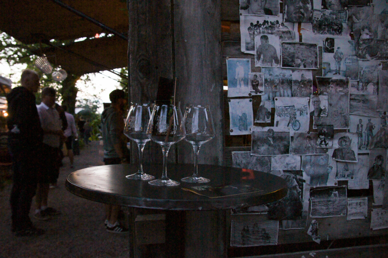 Die Gläser des CFBZ. Foto: Julien Permann/Lunchgate