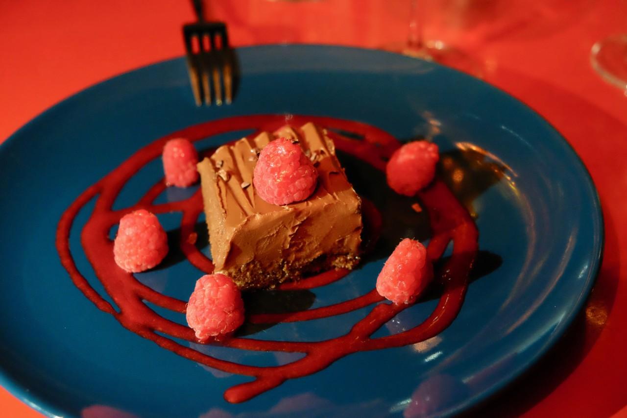 """Ein """"Hauch"""" Schokolade zum Abschluss. Foto: Anna/Lunchgate"""