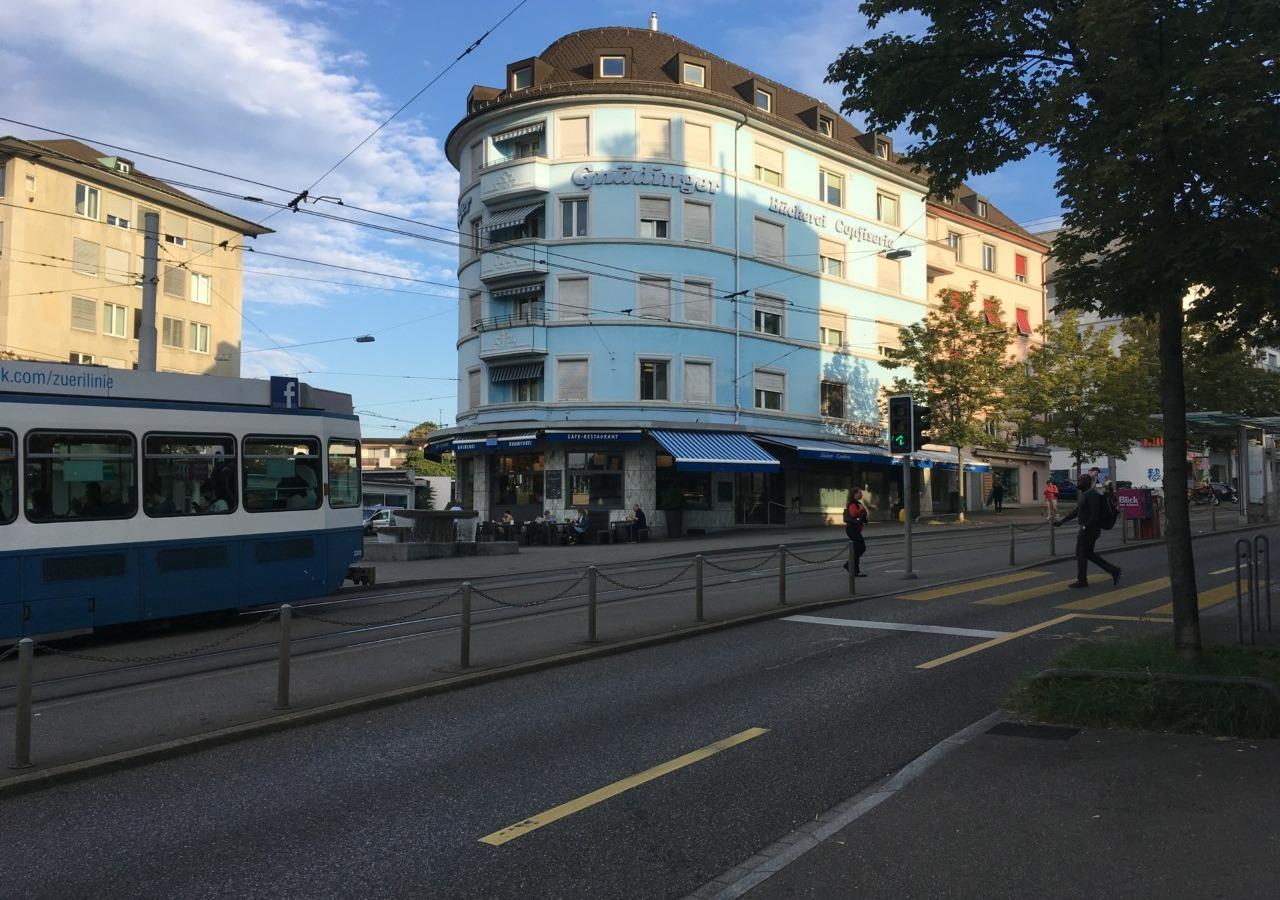 Kaffee-Guide am Schaffhauserplatz. Foto: Lunchgate/Lea