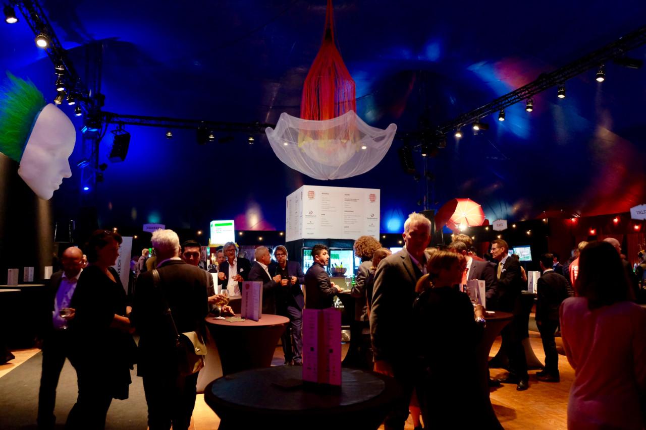 Die diesjährige Best of Swiss Gastro Award Night fand im Zirkuszelt statt. Foto: Lunchgate/Anna