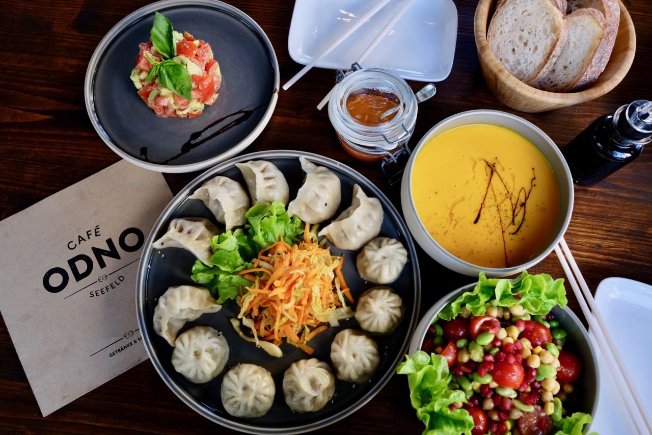 Das Mittagessen im Café Odno ist kreativ, mit Liebe gemacht und geschmacklich einfach top. Foto: Lunchgate/Anna