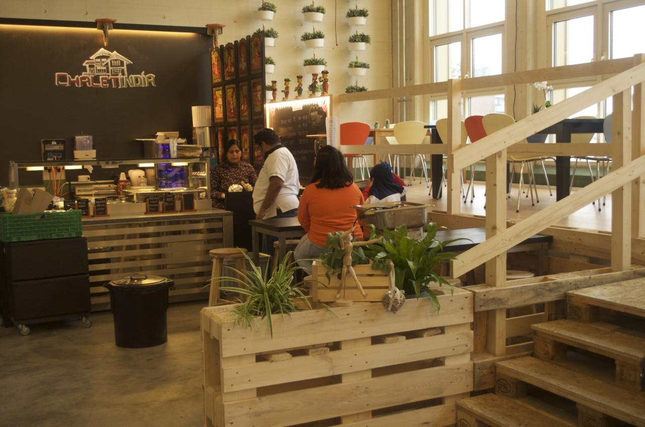 Das Horgner Restaurant Chalet India steht nun auch in der MARKTHALLE93. Foto: Lunchgate/Larissa.