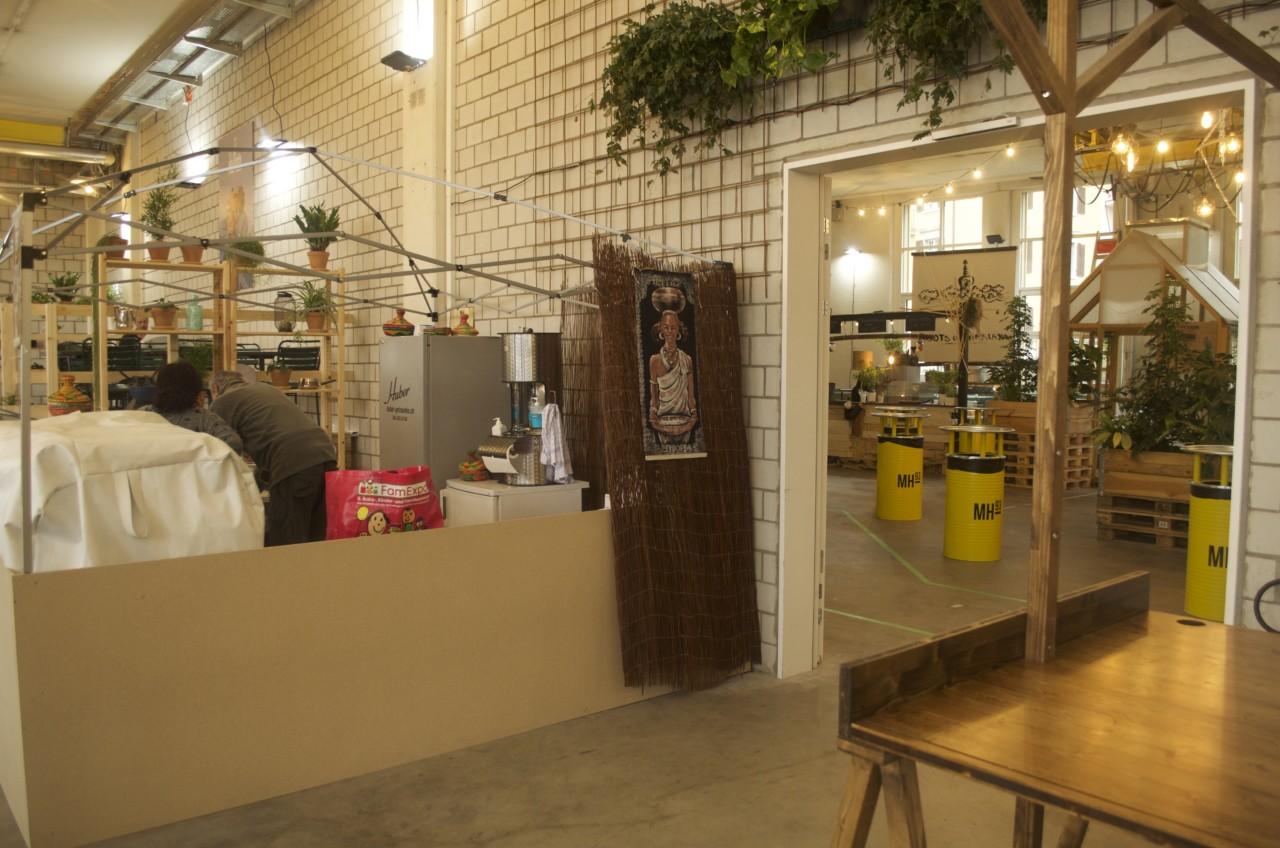 Auf insgesamt 800 Quadratmetern verteilen sich 8 Food-Stände – und weitere Konzepte folgen bald. Foto: Lunchgate/Larissa.