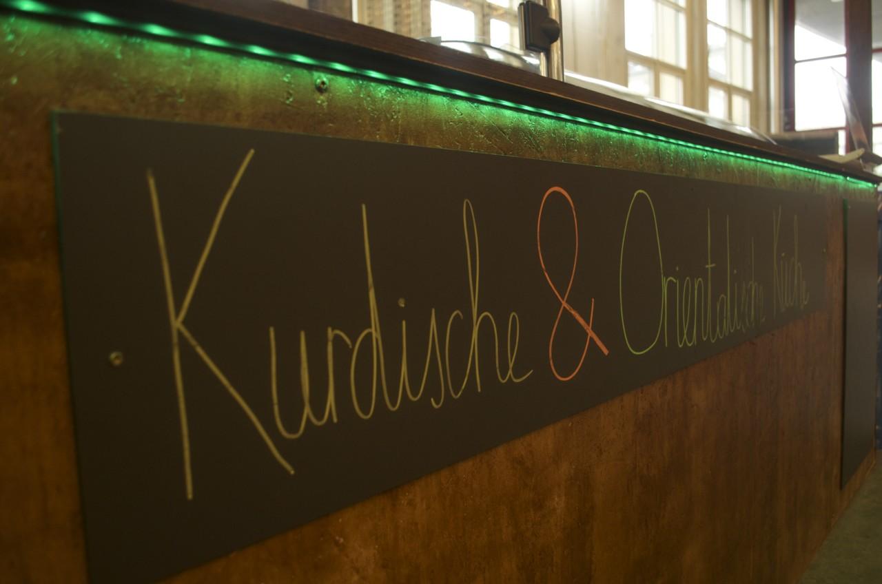 Kurdische und orientalische Spezialitäten gehören ebenfalls zum MARKTHALLEN93-Menü. Foto: Lunchgate/Larissa.