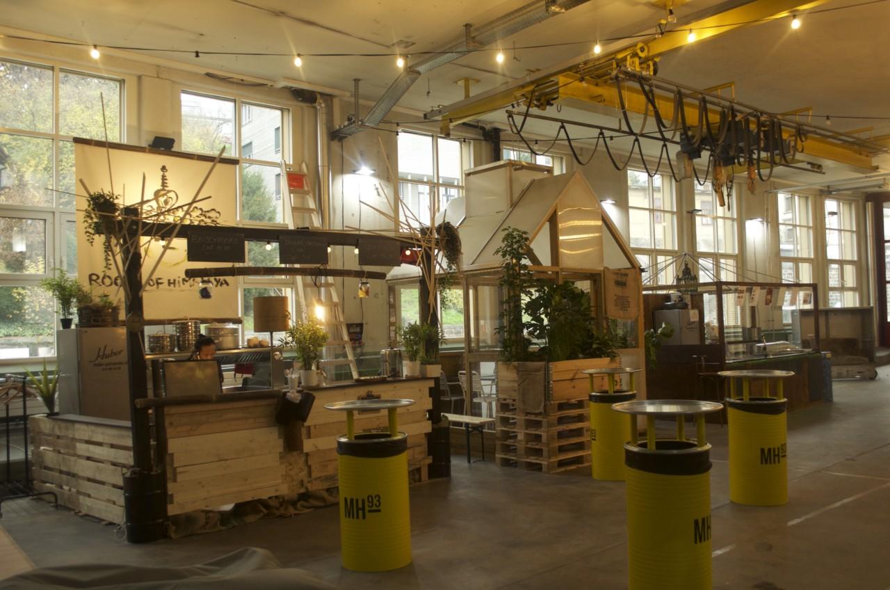 Die «Halle für alle» in Horgen. Foto: Lunchgate/Larissa.
