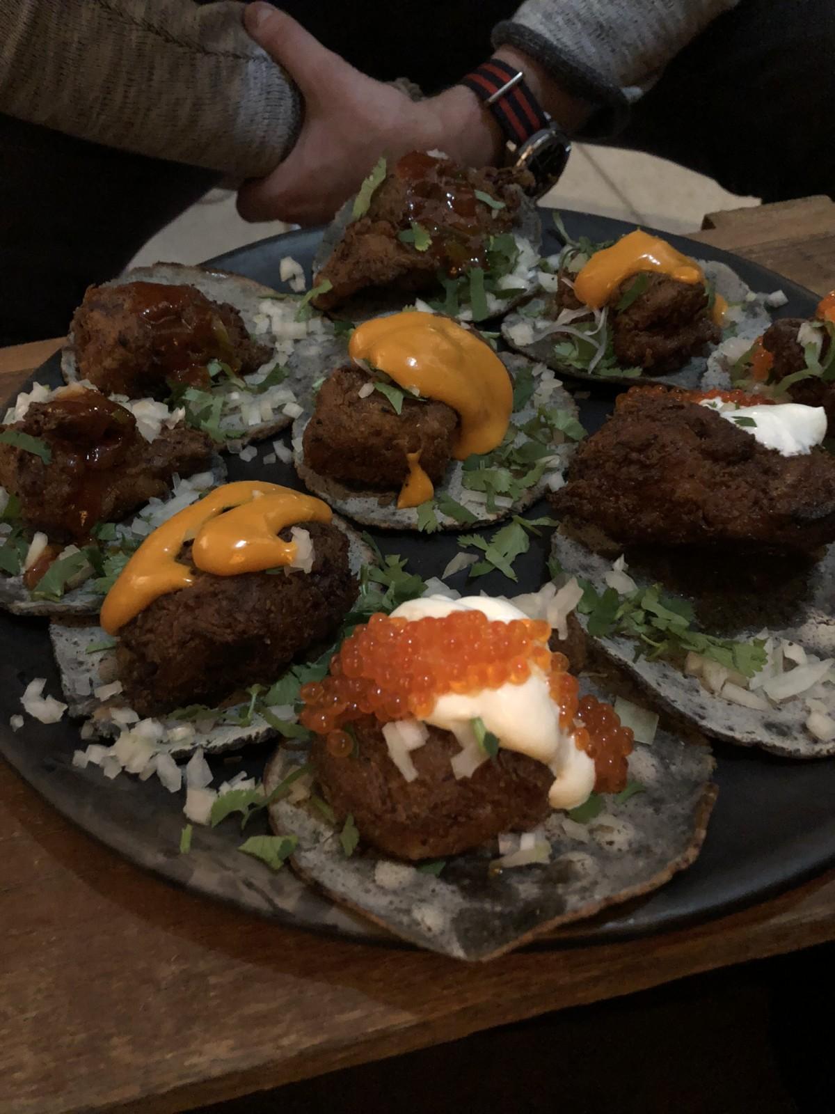 Tacos so weit das Auge reicht. Foto: Lunchgate/David