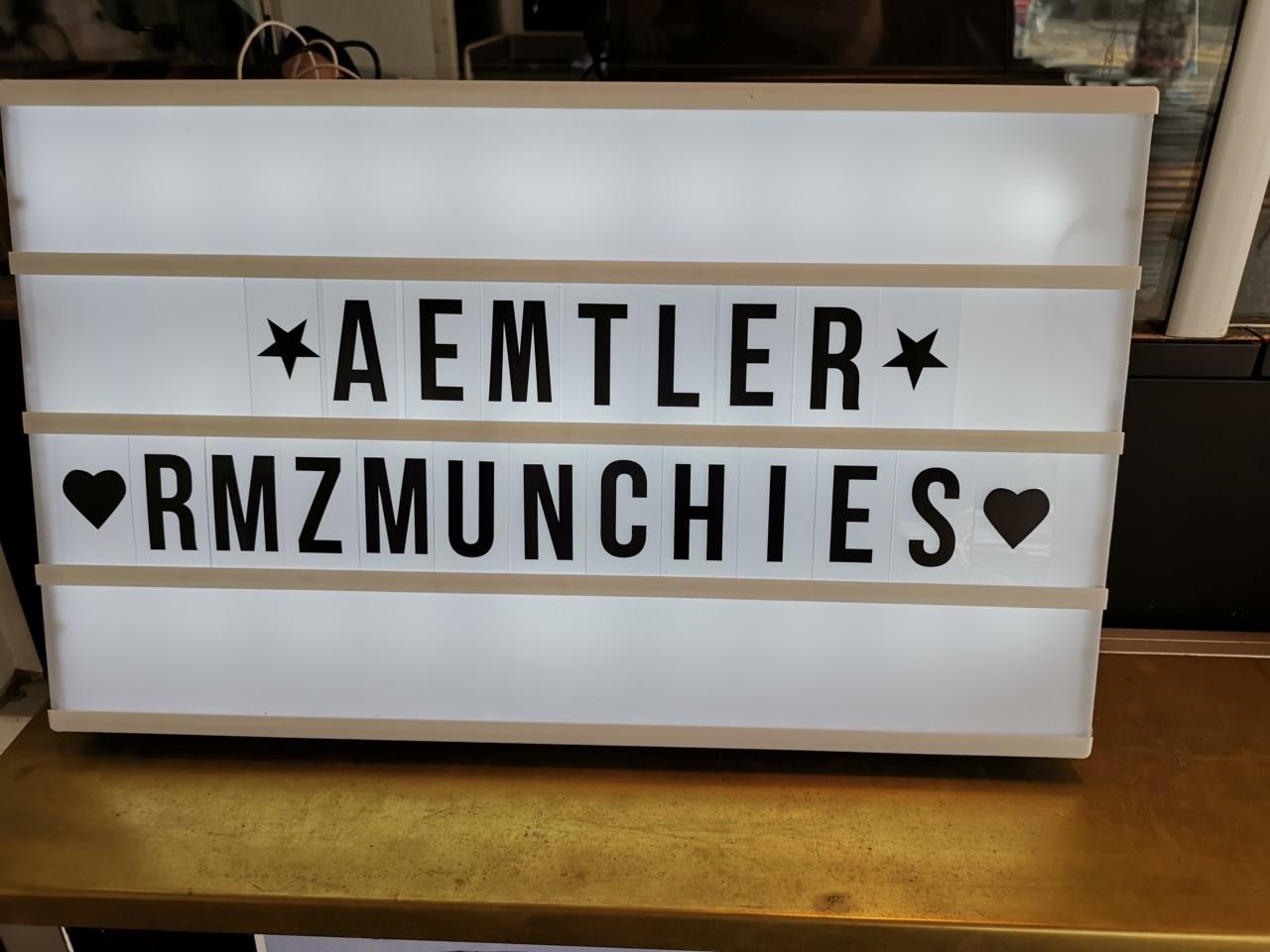 RMZMUNCHIES freut sich auf deinen Besuch. Foto: Lunchgate/Max