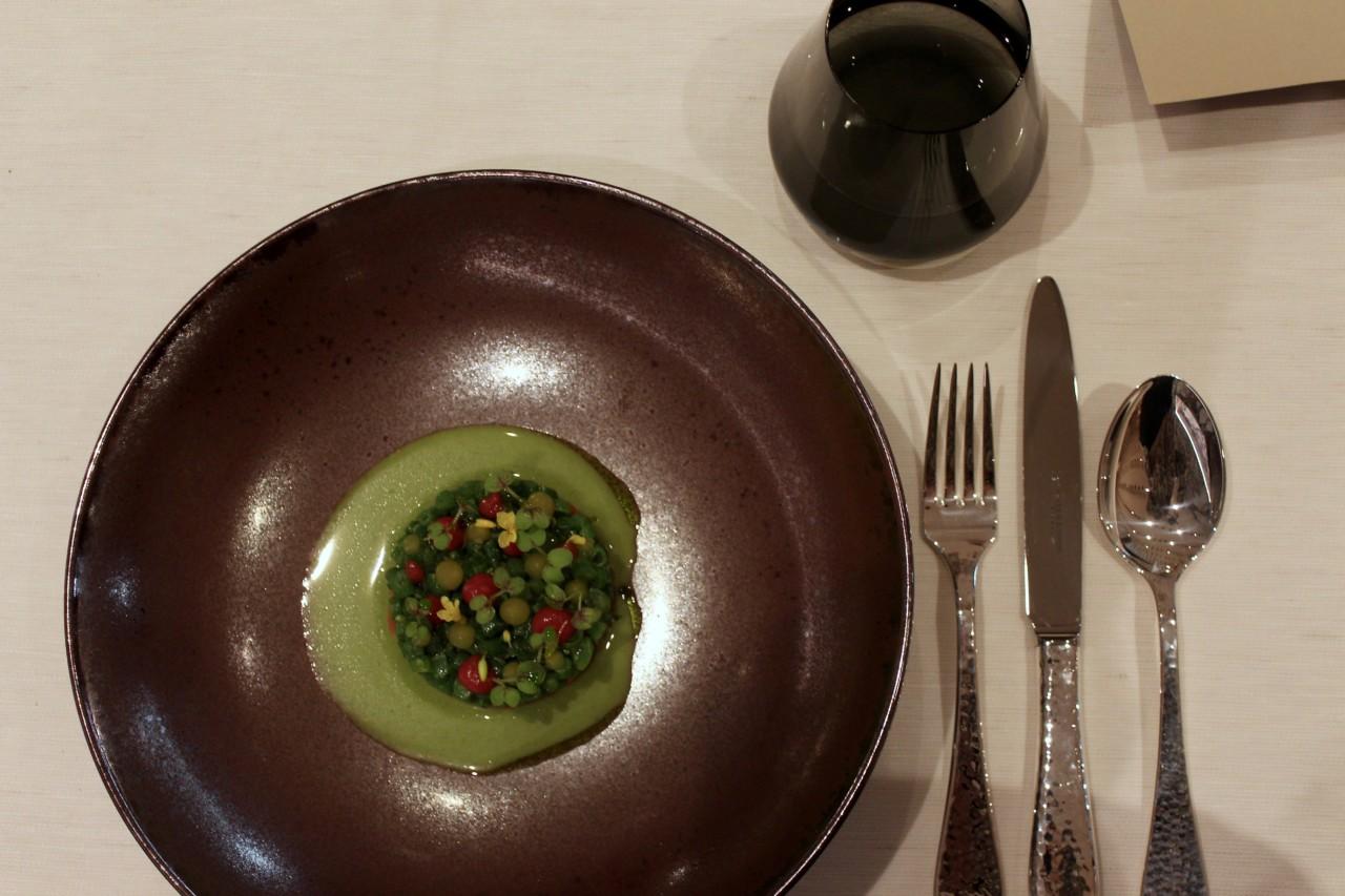 Hinter der Zubereitung dieses kulinarischen Kunstwerks steckt wohl eine ruhige Hand. Foto: Lunchgate/Selina