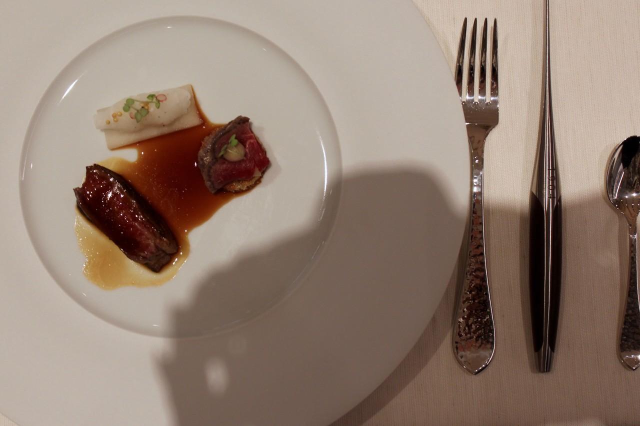 Das wohl fleischigste Menü des Abends. Foto: Lunchgate/Selina