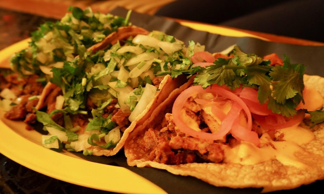 Die Tacos gibt's in sechs verschiedenen Varianten. Foto: Lunchgate/Nadine