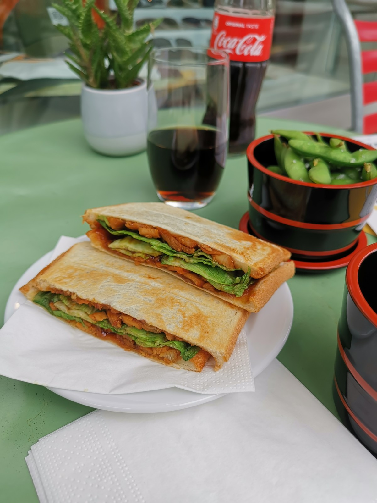 Teriyaki Chicken Sandwich. Foto: Lunchgate/Max