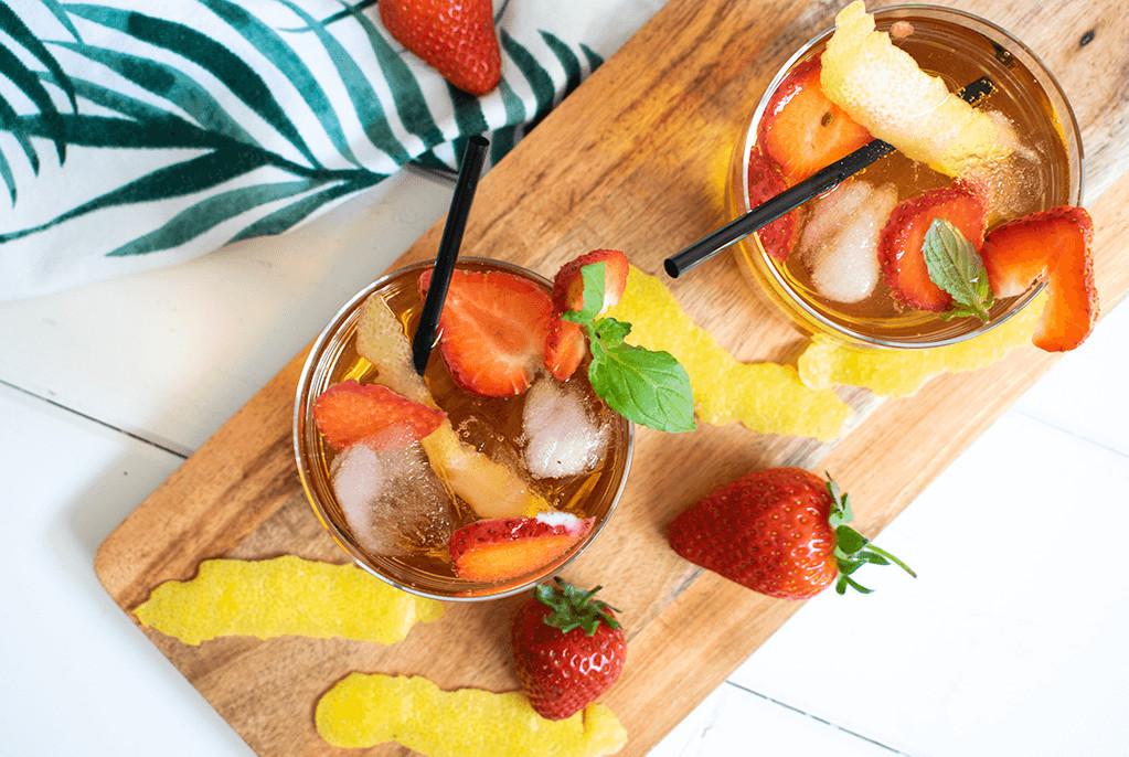Wermut-Cocktail: spritzig trifft frisch. Foto: thegreendorf.de