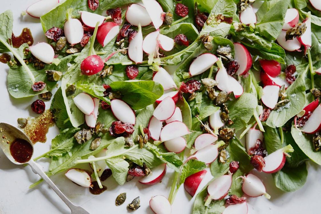 Leichte Vitaminbombe mit leckeren Kürbissen! Foto: leaf-to-root.com
