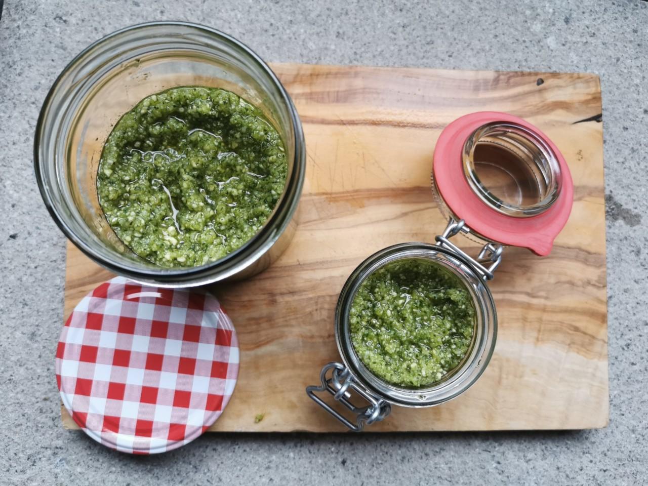 pesto-basilikum-koriander-cashew-rezept-selbermachen