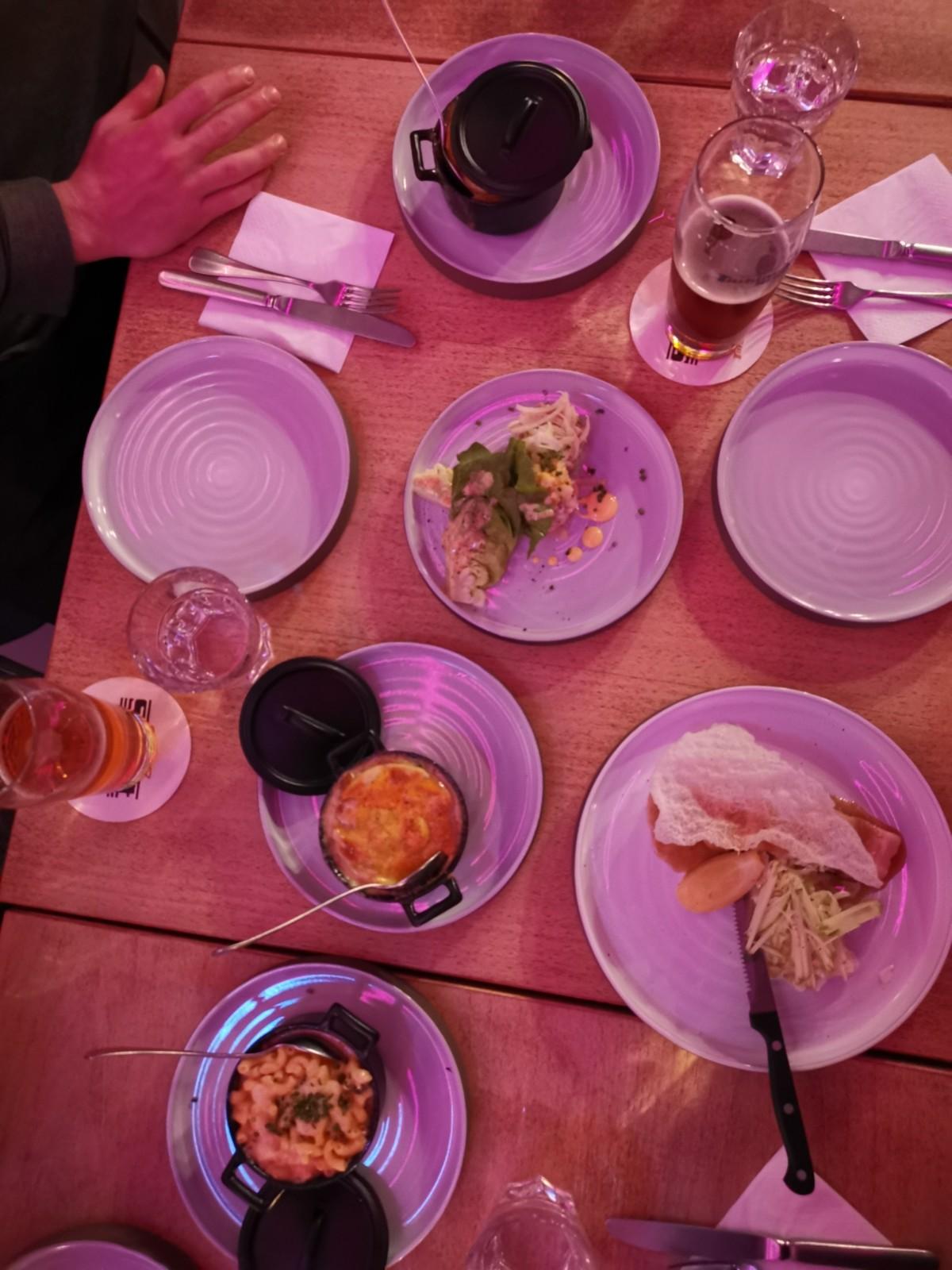 Schöne Teller, schöne Speisen. Foto: Lunchgate/Max