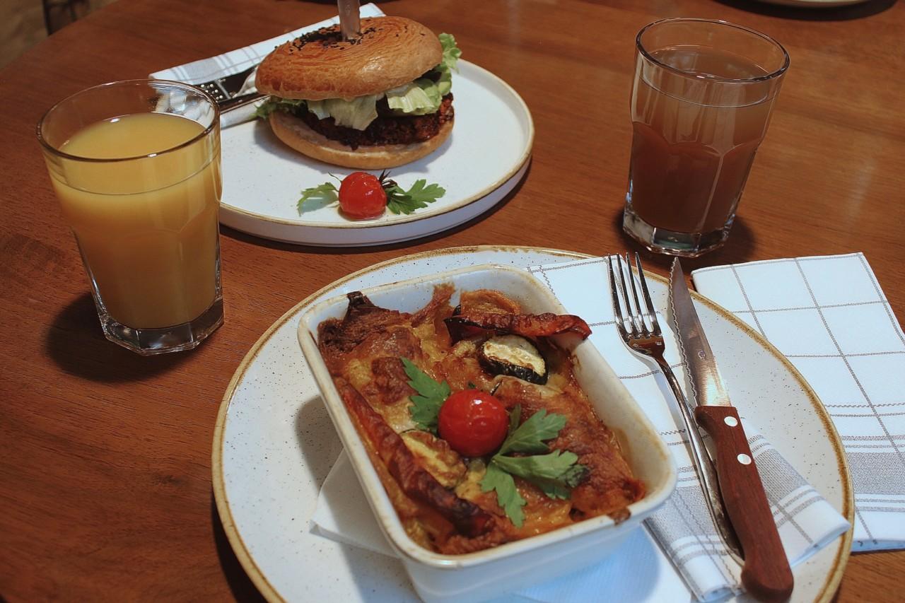 Nach einem Burger oder einer Portion Enchiladas ist der Hunger definitiv weg! Foto: Lunchgate/Seina