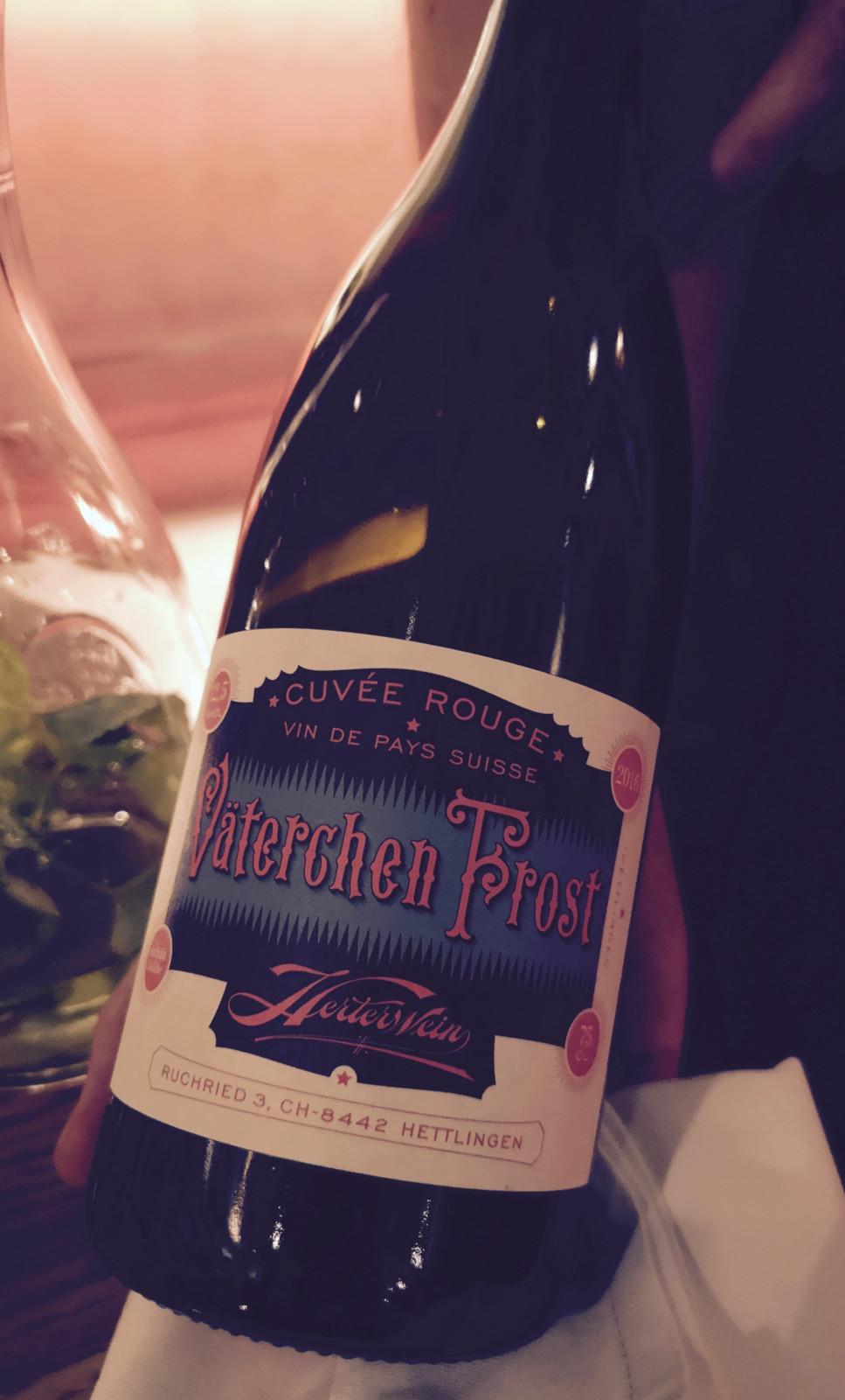 Ein umgänglicher Naturwein aus Winterthur. Foto: Lunchgate/Anna