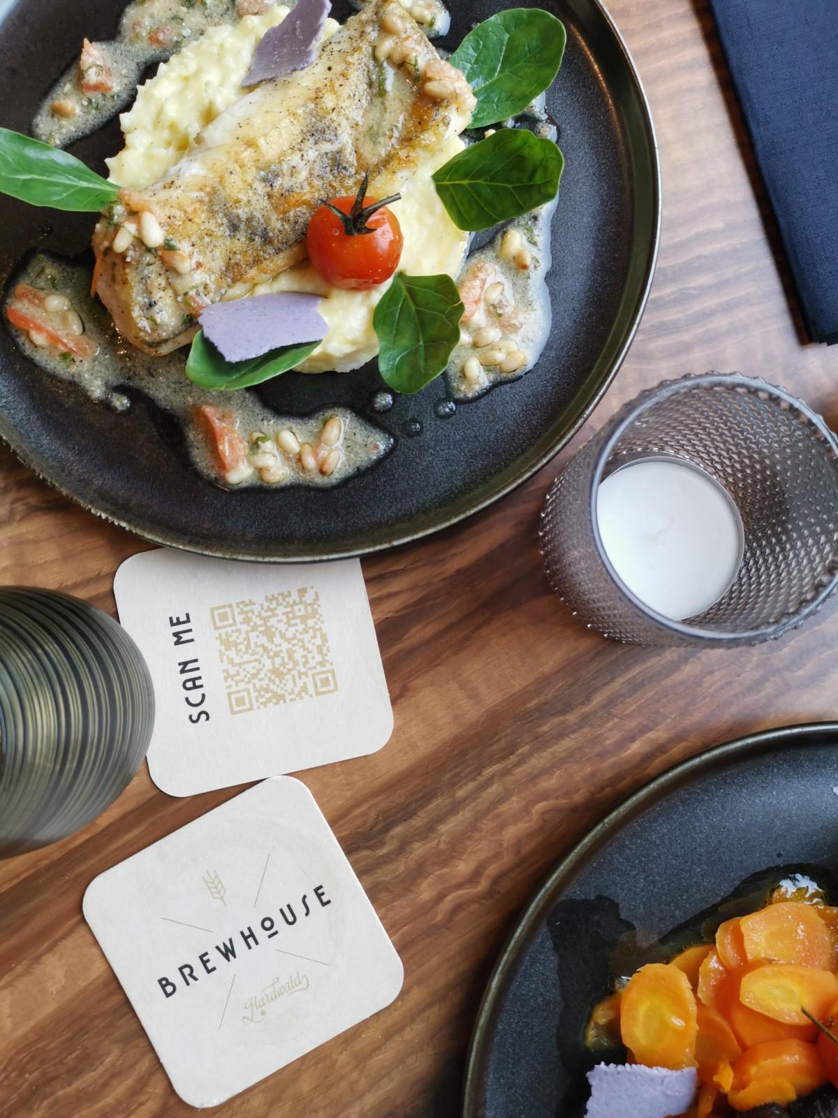 Forellen und QR-Codes. Foto: Lunchgate/Max