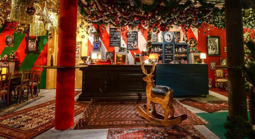 Bis Ende Dezember gibt's im Rudolph's waschechten Weihnachtskitsch. Foto: falstaff.ch