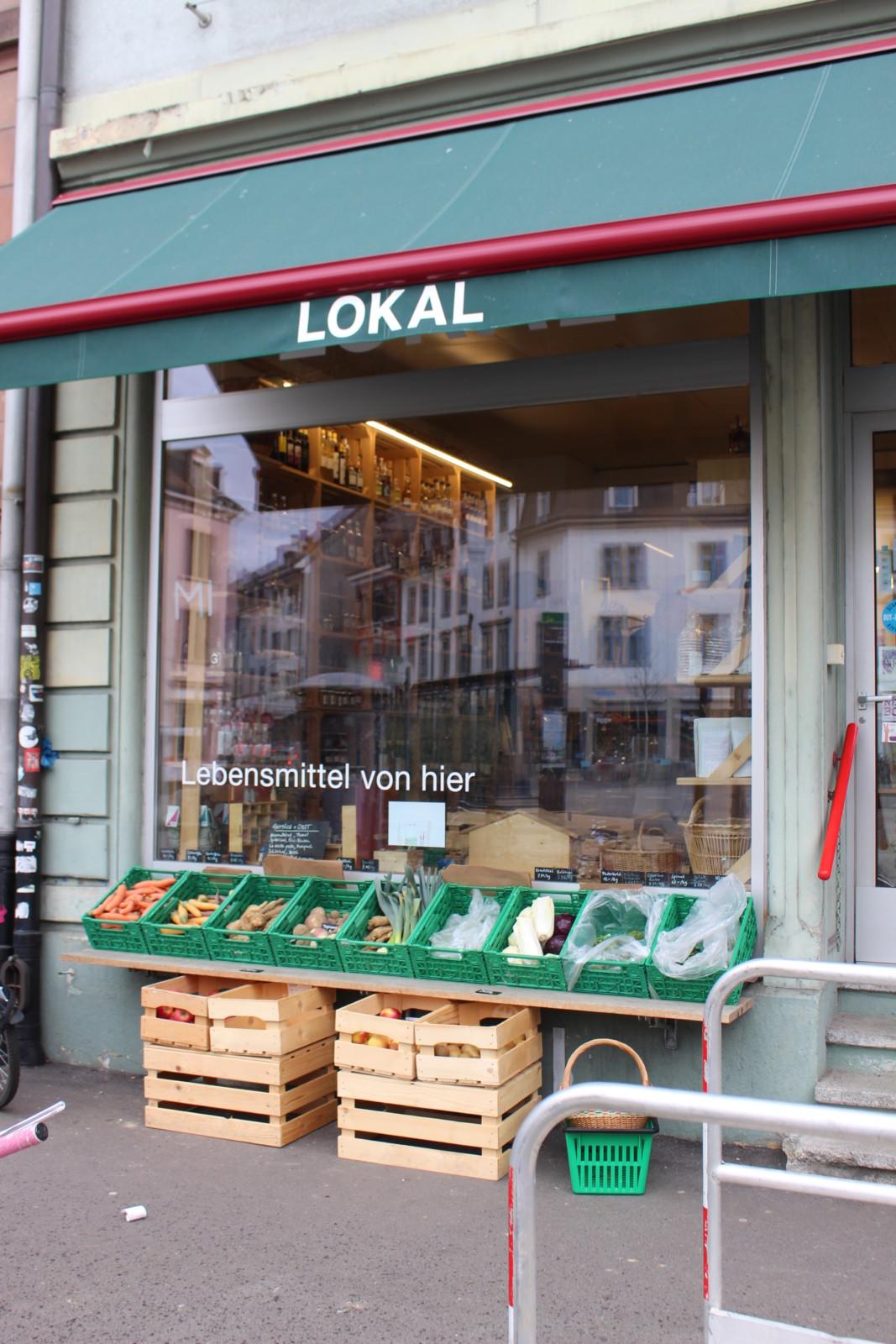 Hier gibt es eine schöne Auswahl an regionalen und saisonalen Produkten. Foto: Lunchgate / Sydney Karolewski