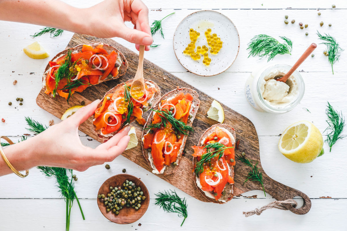 Lachs oder kein Lachs? Lasst eure Gäste werweissen! Foto: eat-this.org