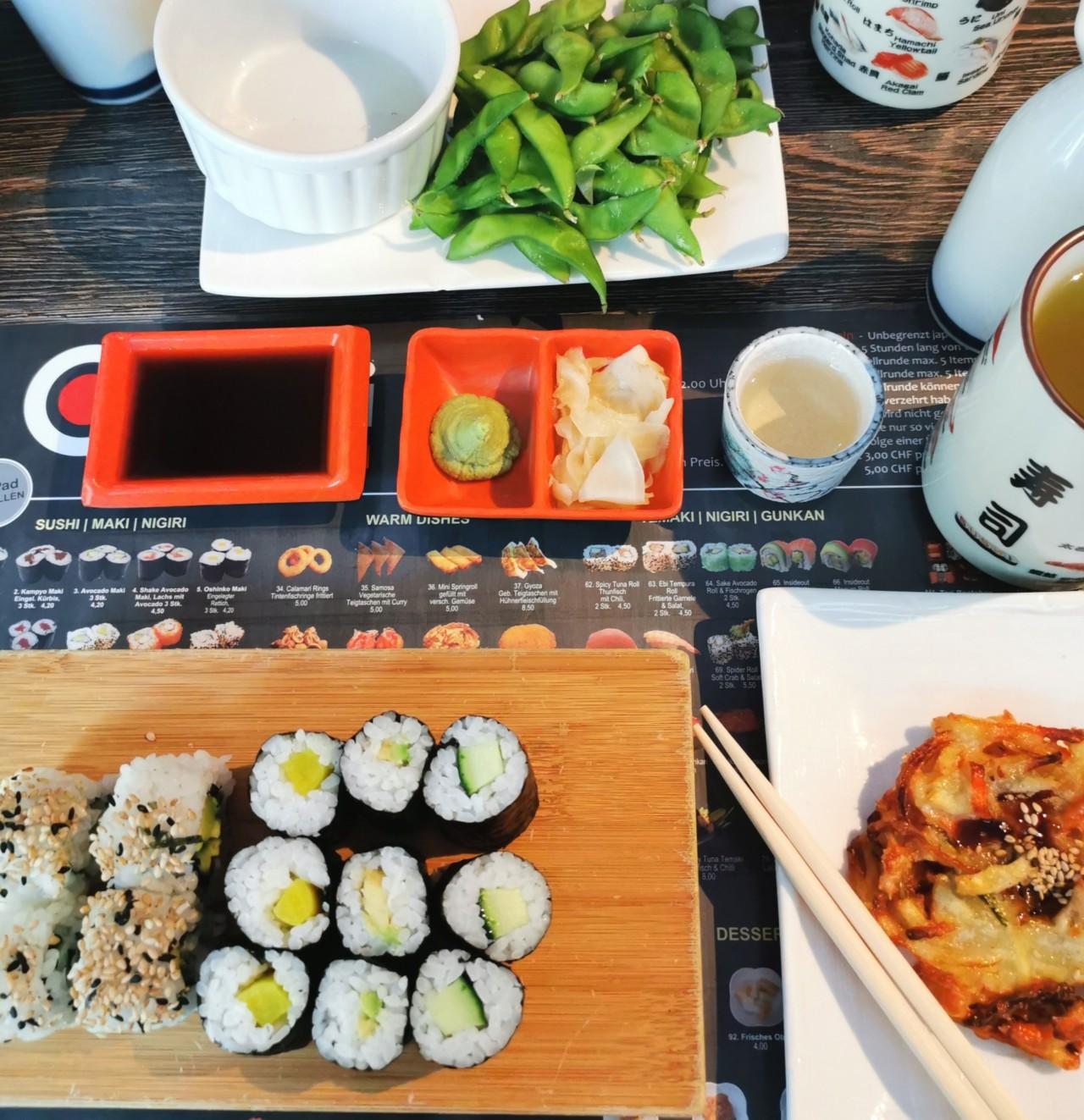 In Erinnerungen schwelgen  - so sieht es im Oishii normalerweise aus. Foto: Lunchgate / Julia