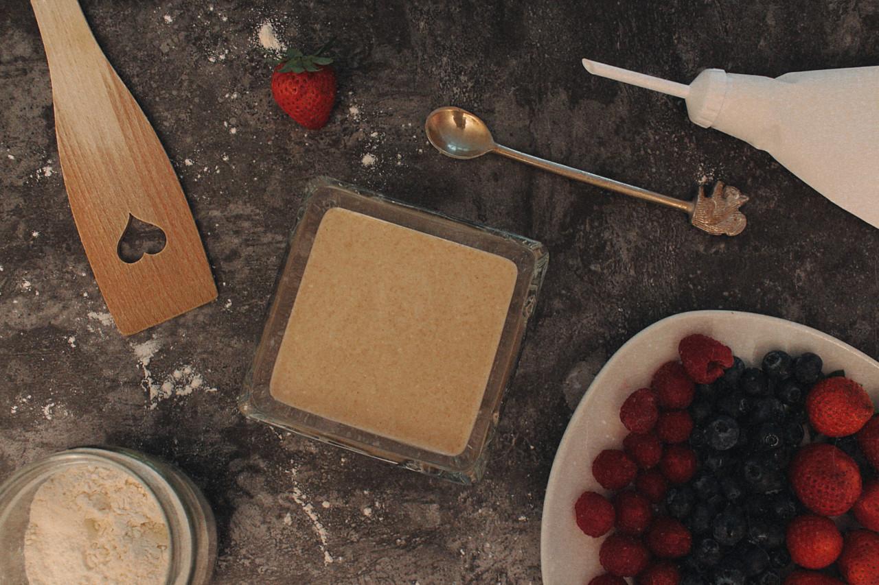 Der Mini-Pancakes-Teig ist im Nullkommanix hergezaubert. Foto: Lunchgate/Selina