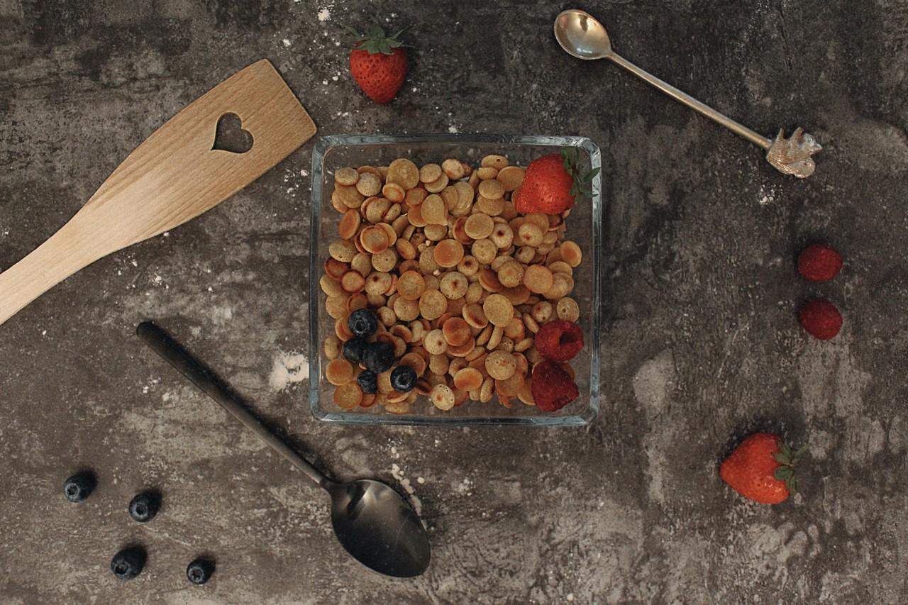 Pancake Cereals: Sehen nicht nur lecker aus, sie sind es auch! Foto: Lunchgate/Selina