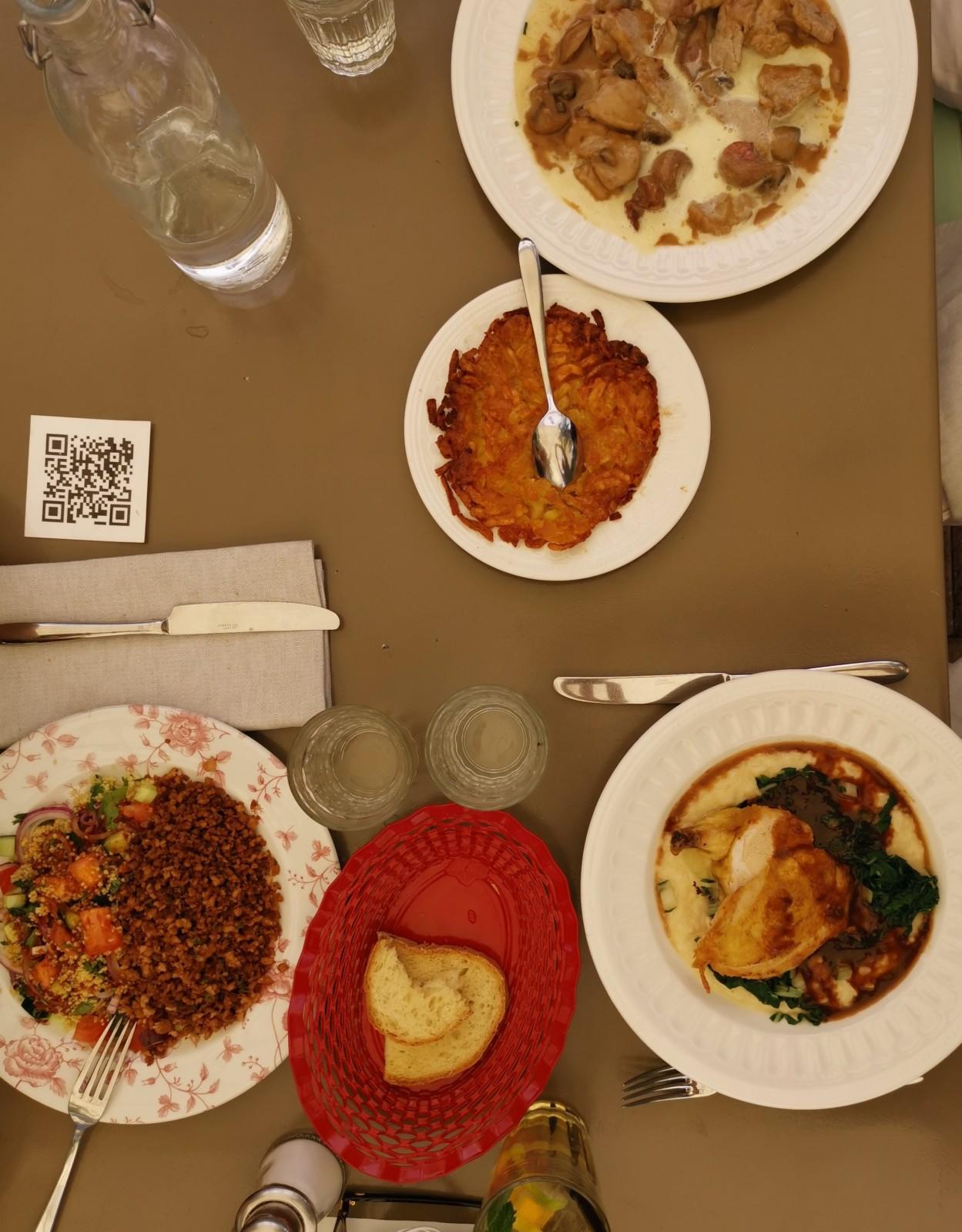 Ein Festmahl zum Zmittag. Foto: Lunchgate/Max