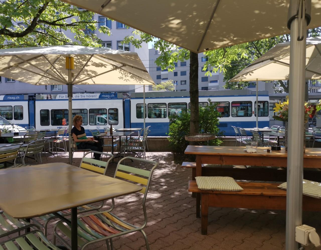 Oase mitten im Stadt-Troubel. Foto: Lunchgate/Max