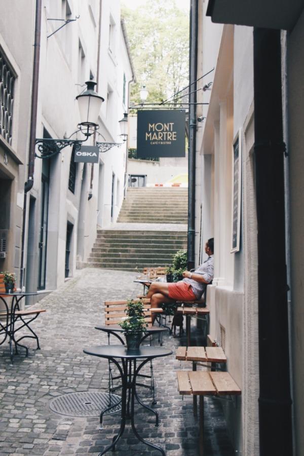 Café & Bistro Montmartre: ein kleines Stück Frankreich in Zürich