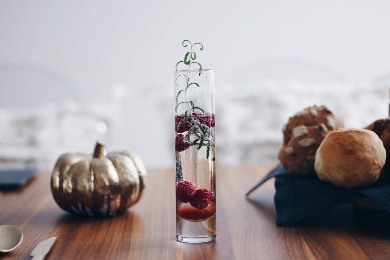Tischlein deck dich - Herbstliche Tischdeko
