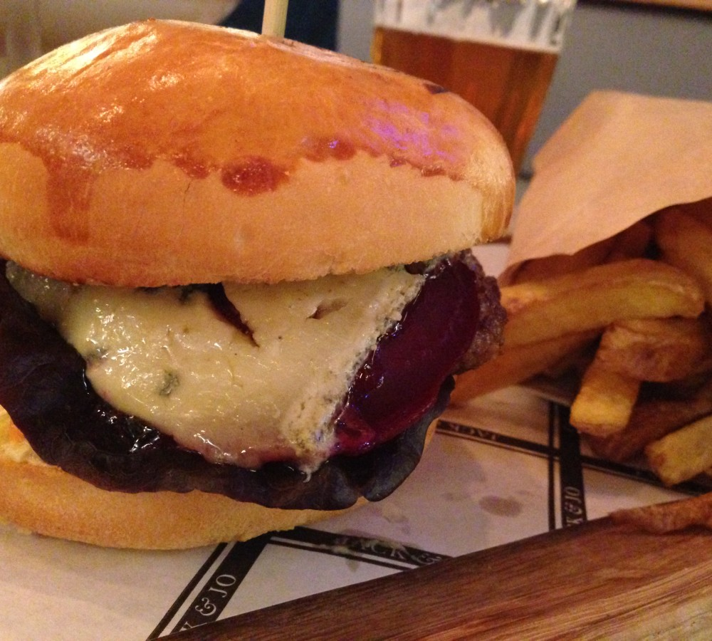 Burger im Jack and Joe