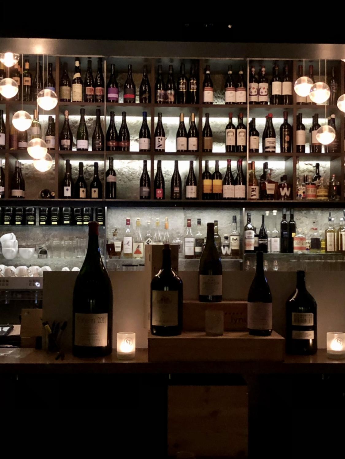 Imposante Weingalerie - Foto: Lunchgate/Daniel