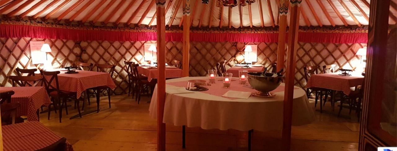 Heimisches Gericht in fernöstlichem Ambiente, Foto: Hotel innere Enge