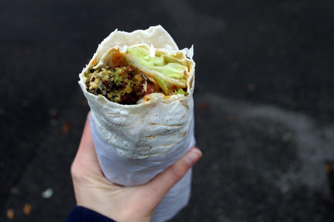 der absolut beste Falafel in Basel. Foto: Lunchgate/Selina