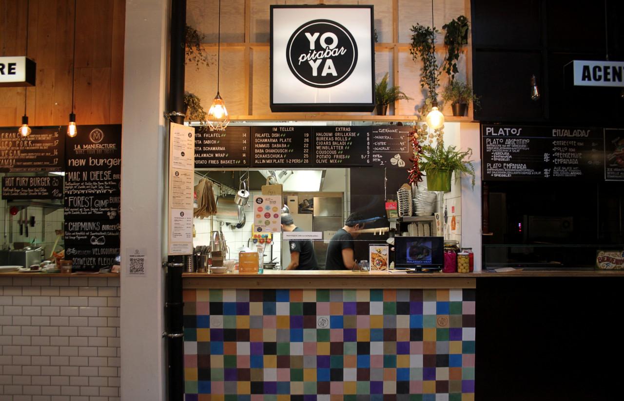 Yoya Pita Bar im Klara 13 Foto: Lunchgate/Selina