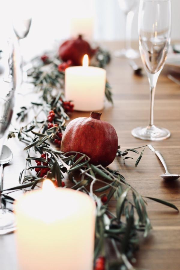 Tischlein deck dich: Weihnachtliche Tischdeko