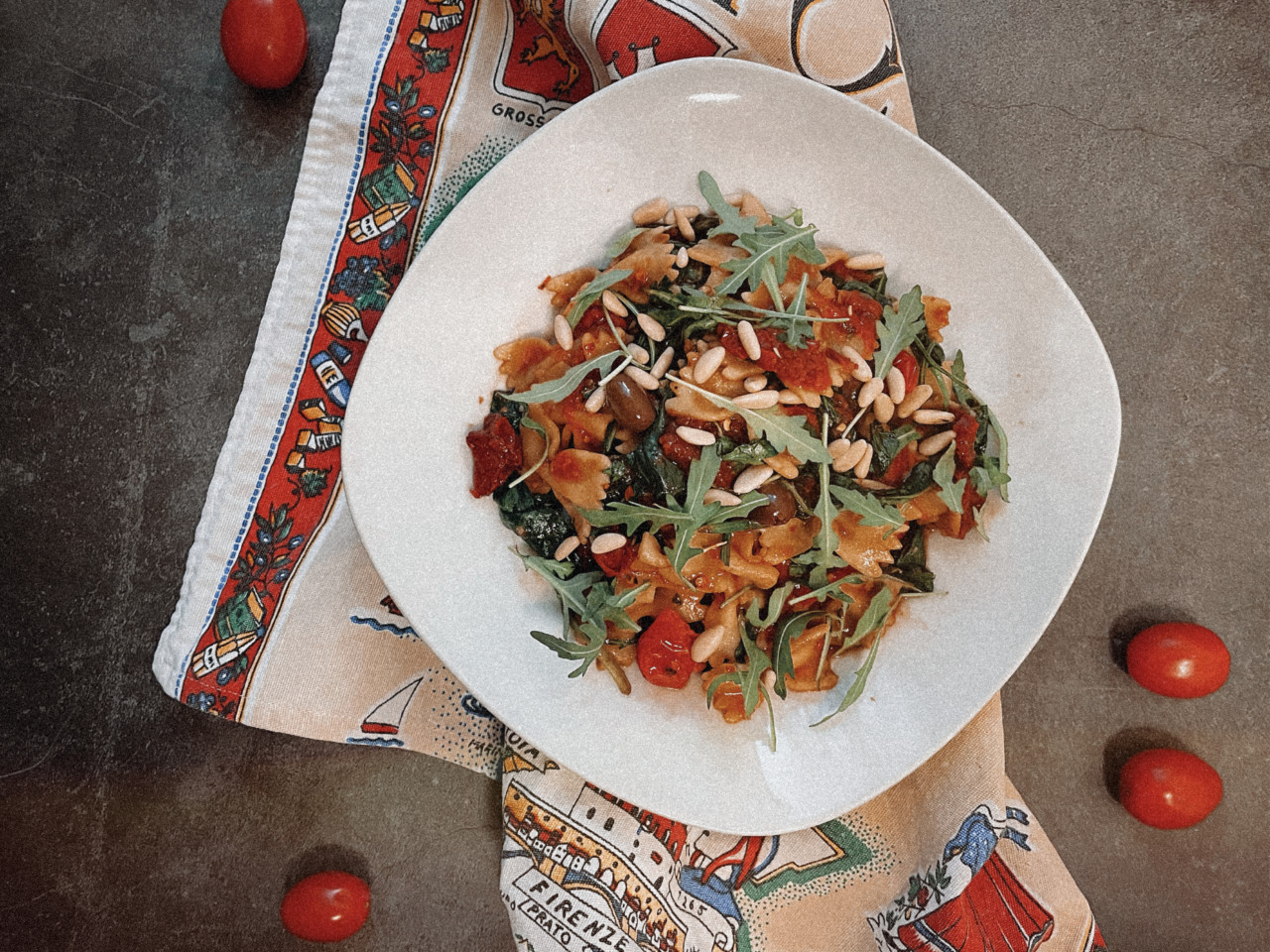 Italienischer Nudelsalat: Eine Prise Italien! Foto: Lunchgate/Selina