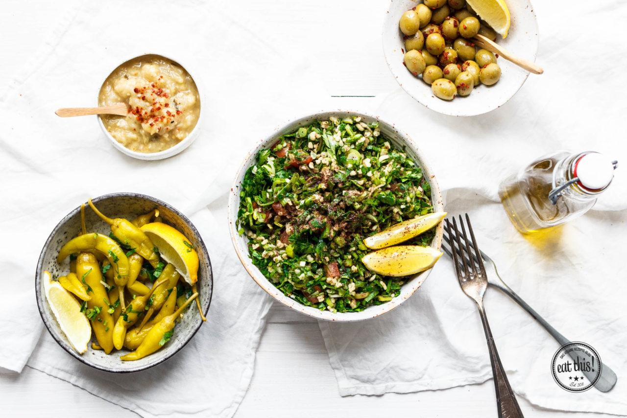 Zubereitungszeit von Taboulé? Wohl etwa fünf Minuten! Foto: eat-this.org